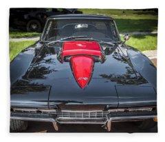 1967 Chevrolet Corvette 427 435 Hp Fleece Blanket