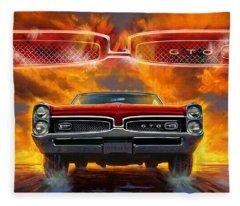 1967 Pontiac Tempest Lemans Gto  Fleece Blanket