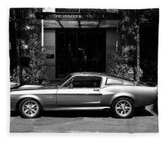 1967 Shelby Mustang B Fleece Blanket