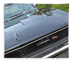 1968 Dodge Charger Fleece Blanket