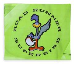 1970 Plymouth Superbird Roadrunner Fleece Blanket