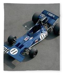1970 Tyrell-cosworth 001, 3.0 Litre F1 Fleece Blanket
