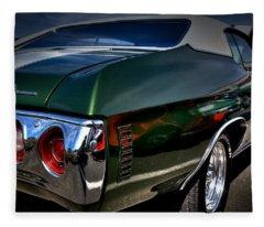 1972 Chevrolet Chevelle Fleece Blanket