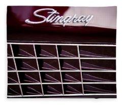 1972 Chevrolet Corvette Stingray Fleece Blanket