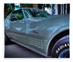 1972 Corvette Stingray Fleece Blanket
