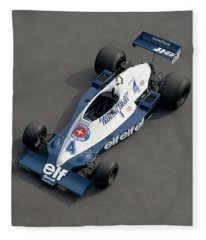 1978 Tyrrell-cosworth 3.0 Litre F1 Fleece Blanket