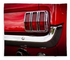 1966 Ford Mustang Fleece Blanket