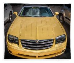 2008 Chrysler Crossfire Convertible  Fleece Blanket