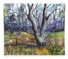 A Tree For Thee Fleece Blanket