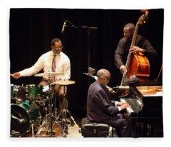 2 Ahmad Jamal Pdx Jazz Fest 21feb14 Fleece Blanket