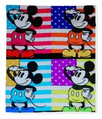 American Mickey Fleece Blanket