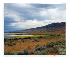Antelope Island Fleece Blanket