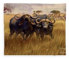 2 Bad Duga Boys  Fleece Blanket
