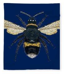 Bumblebee Bedazzled Fleece Blanket