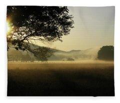 Cades Cove Sunrise II Fleece Blanket
