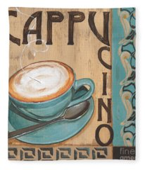 Cafe Nouveau 1 Fleece Blanket