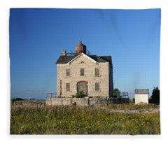 Cedar Point Fleece Blanket