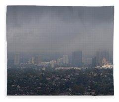 Century City, Wilshire Corridor, Los Fleece Blanket