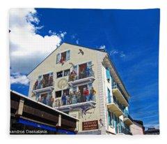Chamonix Fleece Blanket