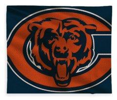 Chicago Bears Uniform Fleece Blanket