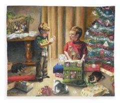 Christmas Time Fleece Blanket