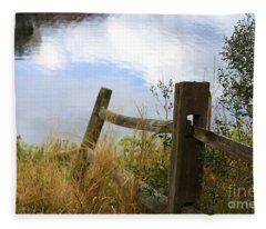 Cloud Reflections Fleece Blanket