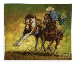 Cowboy Fleece Blankets