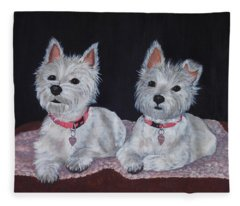 2 Cute Fleece Blanket
