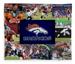 Denver Broncos Fleece Blanket