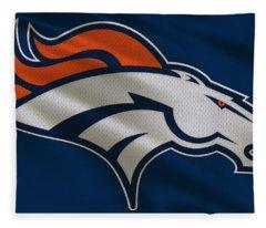 Denver Broncos Uniform Fleece Blanket