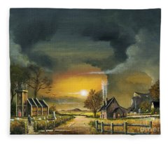 End Of The Day Fleece Blanket