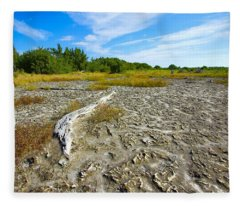 Everglades Coastal Prairies Fleece Blanket