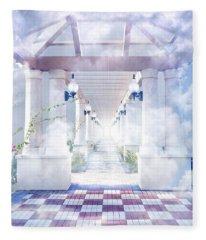 Gateway To Heaven Fleece Blanket