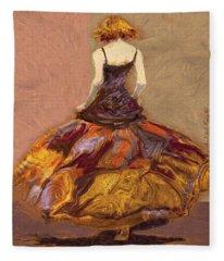 Girl Fleece Blanket