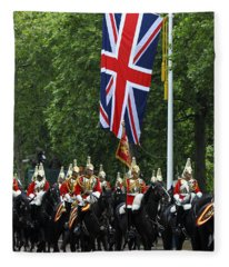 Household Cavalry Life Guards Fleece Blanket