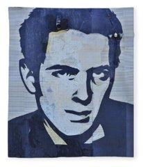 Joe Strummer Fleece Blanket