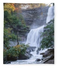 Kaaterskill Falls Square Fleece Blanket