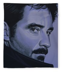 Kevin Kline Fleece Blanket