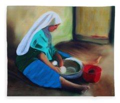 Making Bread Fleece Blanket