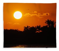 Marco Island Sunset Fleece Blanket