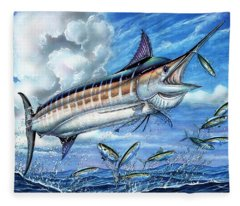 Marlin Queen Fleece Blanket
