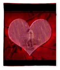 My Hearts Desire Fleece Blanket