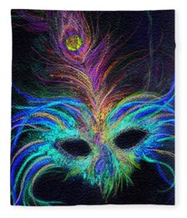 New Orleans Intrigue Fleece Blanket
