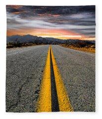 Highway Fleece Blankets