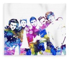 One Direction Fleece Blanket