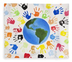 One World Fleece Blanket