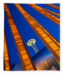 Reach For The Sky Fleece Blanket