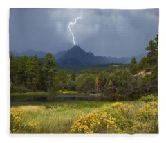 Run For Cover Fleece Blanket