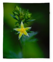 Starflower Fleece Blanket