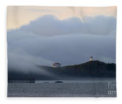 Swallowtail Lighthouse... Fleece Blanket